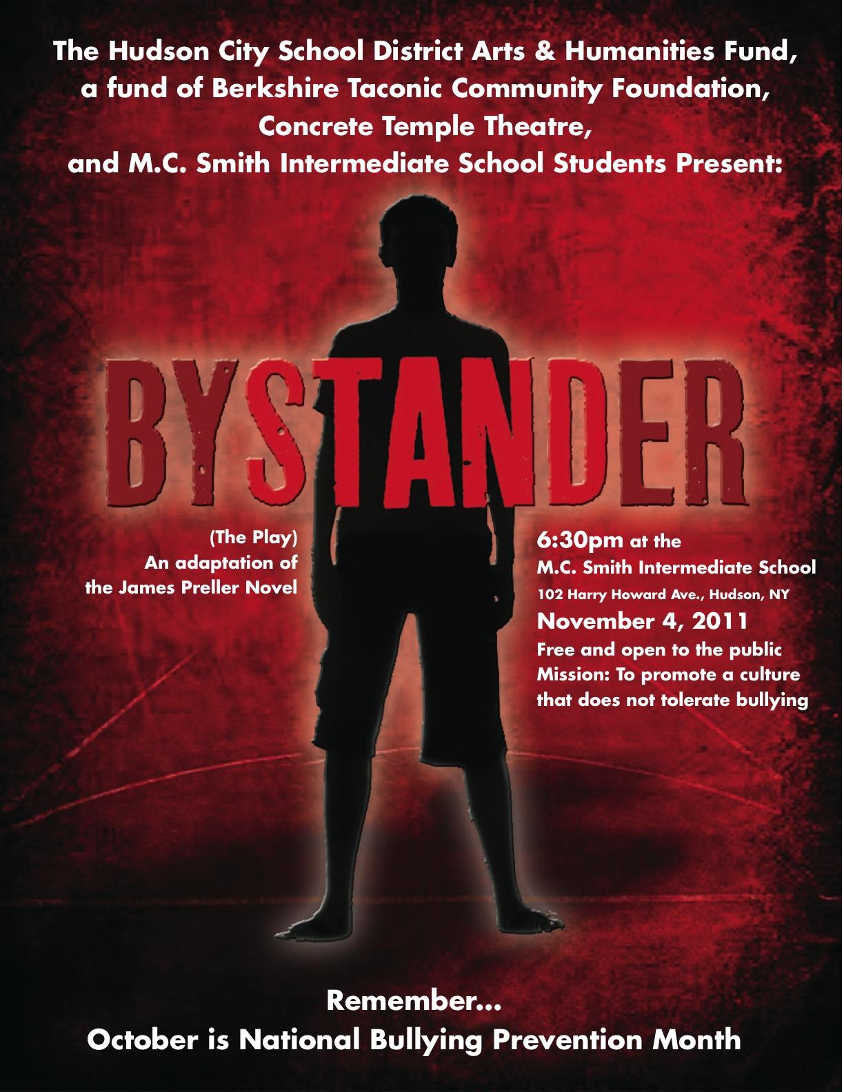 bystander book report