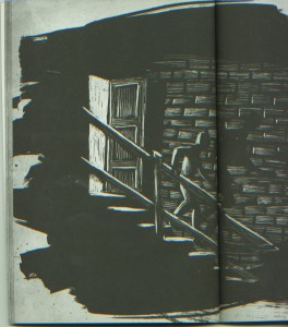 Sorry for the poor quality of my scan from pages 18-19. It cannot be denied: That sure looks like a hand rail to me. Art by Iacopo Bruno.