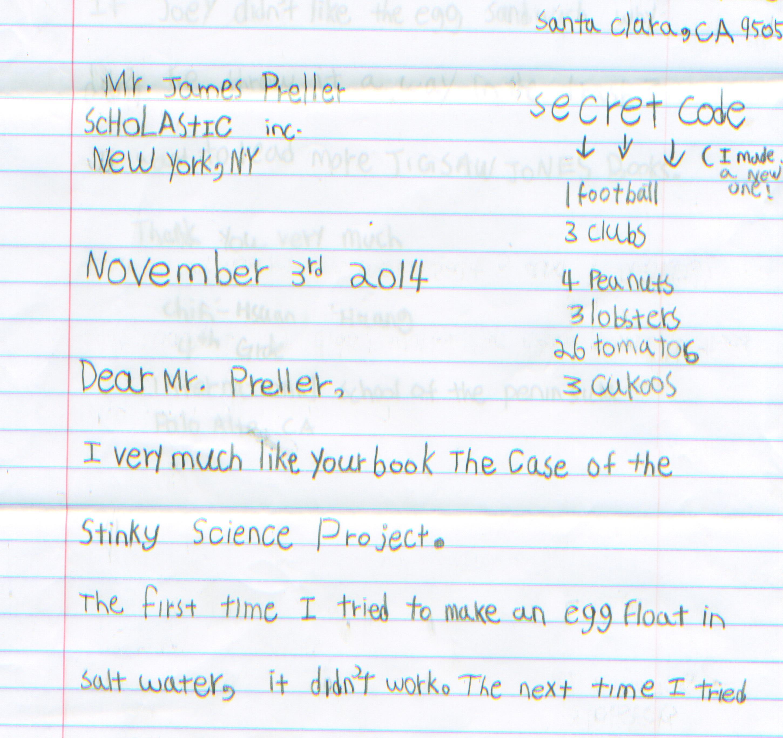 Secret Codes For Kids James Prellers Blog