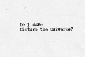 disturb-the-universe