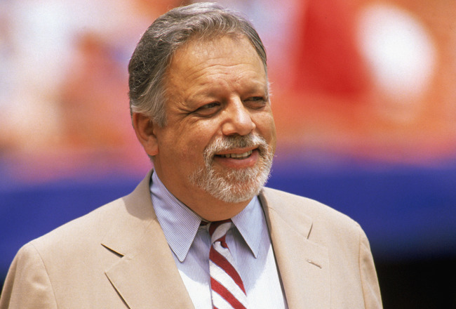 A. Bartlett Giamatti, scholar and former Commissioner of Baseball.