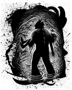 Illustration by Iacopo Bruno from SCARY TALES: SWAMP MONSTER.