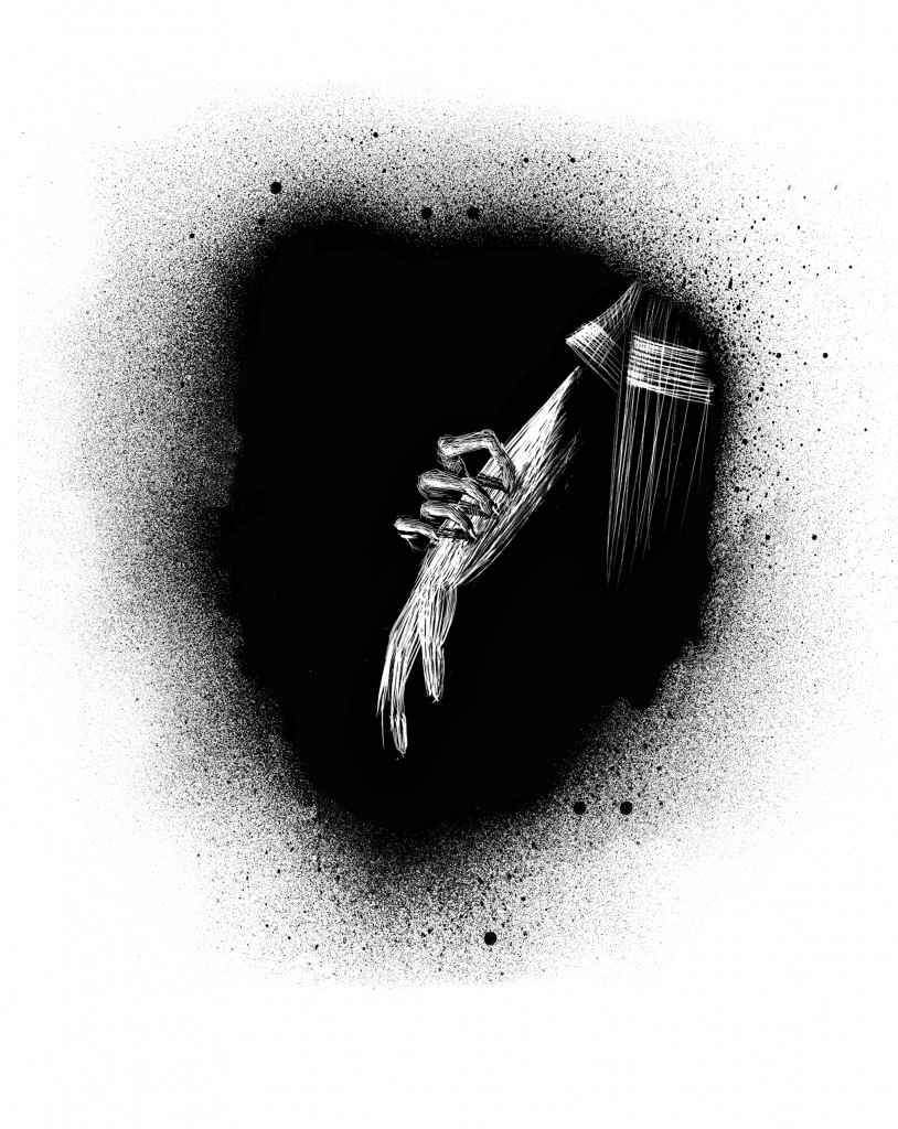 Illustration by Iacopo Bruno from ONE-EYED DOLL.
