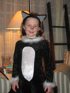 My lovely daughter, Maggie, some years back. To our surprise, she loves horror. Loves it!