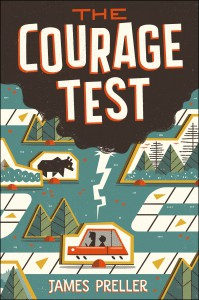 A quick plug for my new book, THE COURAGE TEST. It's a literary road trip along the Lewis & Clark Trail and, yes, there's a bear, both metaphoric and literal.
