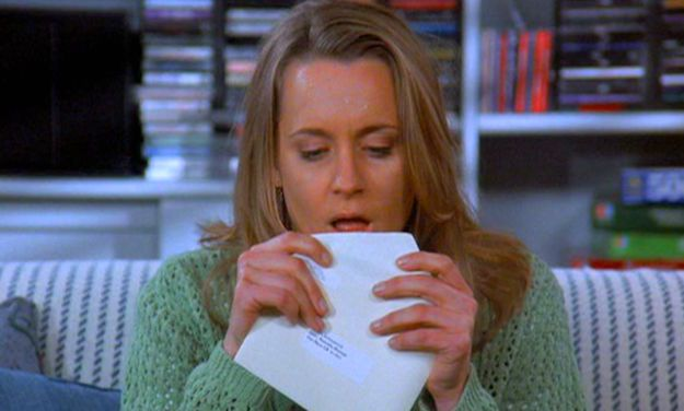 As we learned from Susan on Seinfeld, licking envelopes is a dangerous business.
