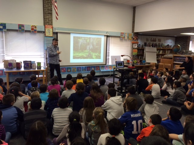 James Preller author visit1