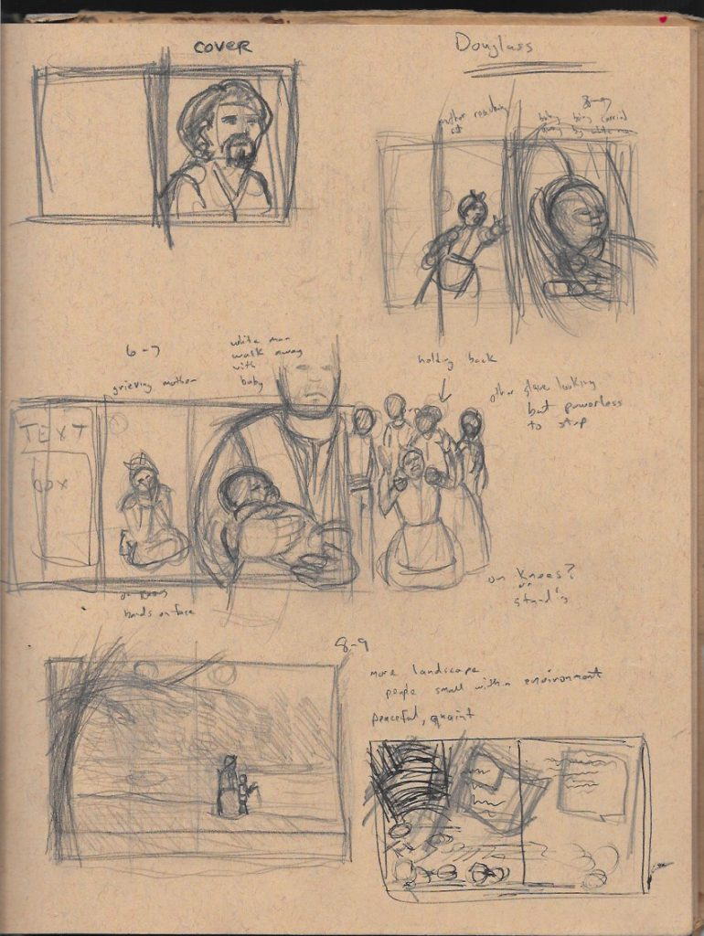 douglass sketch thumbs