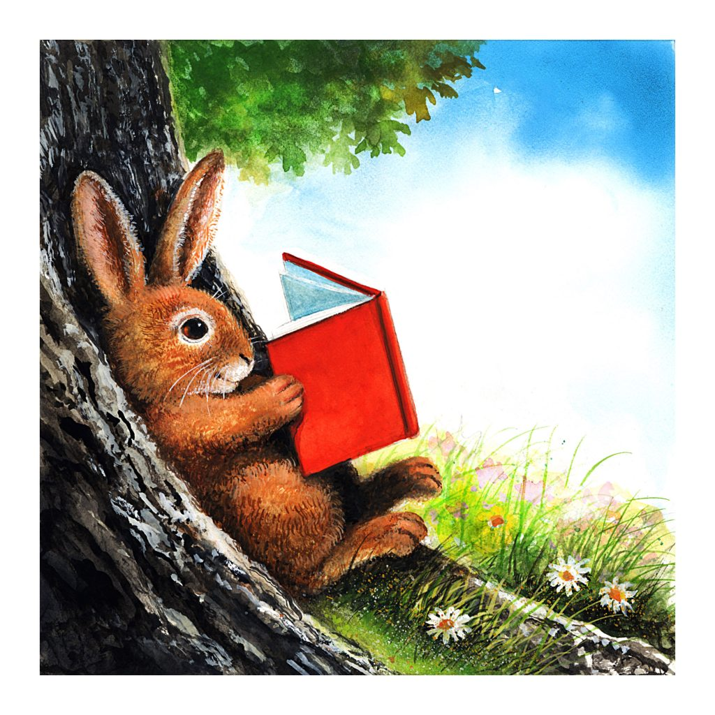 Bigger Bunny cover sketch
