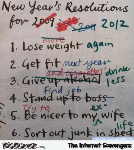 32-funny-new-year-resolutions-list